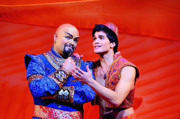 Musical Disneys Aladdin in der Neuen Flora Hamburg