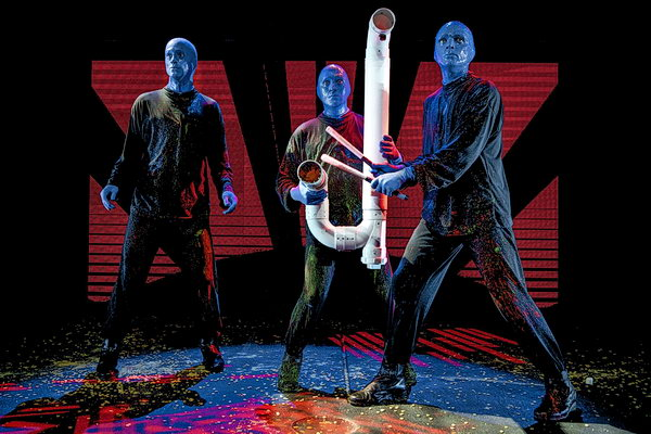 Show Blue Man Group in Berlin
