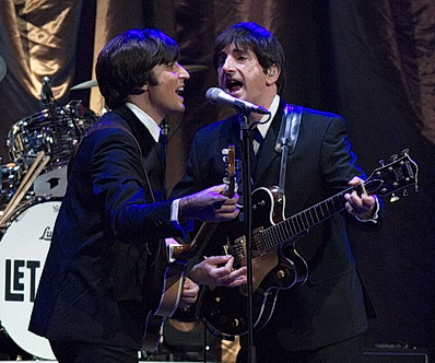 Beatles-Show Let It Be  mit Emanuele Angeletti und Paul Canning